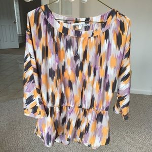 Lovely Peplum-style blouse Collective Concepts Med